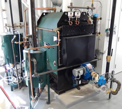 Popular MPH boiler line for craft breweries and distilleries by Columbia Boiler Co.