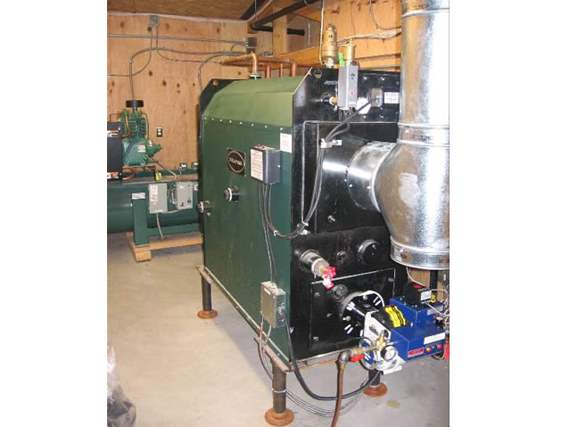Waste Oil Boiler And Heater Installations At Car And Truck