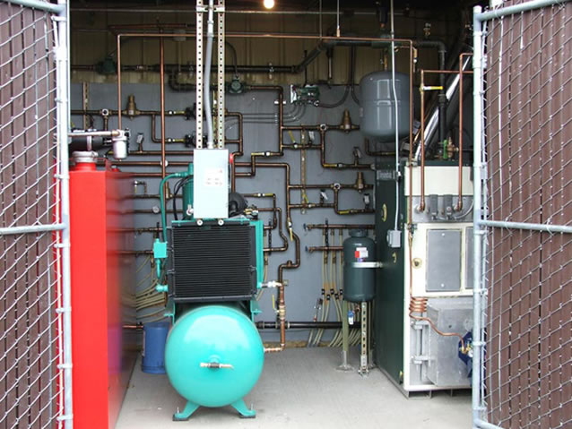 Waste Oil Boiler And Heater Installations At Truck Repair
